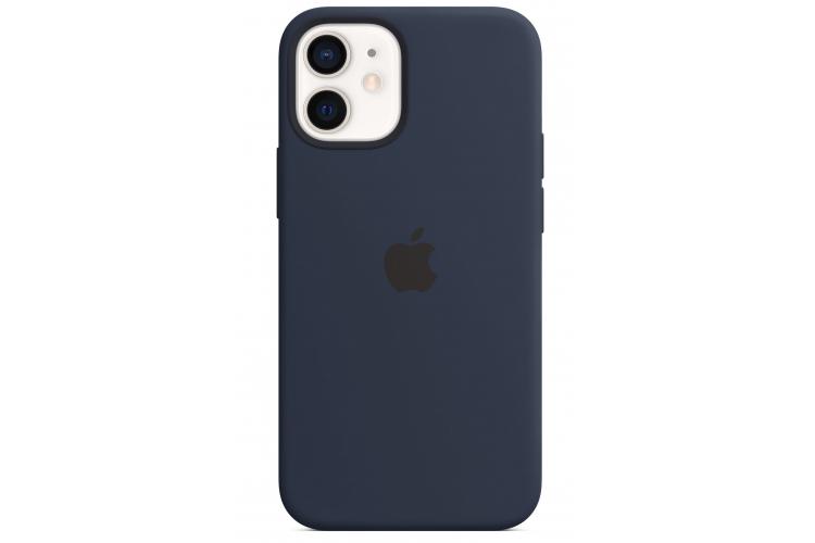 Apple silikónový obal pre iPhone 12 Mini – námornícky tmavomodrý 2