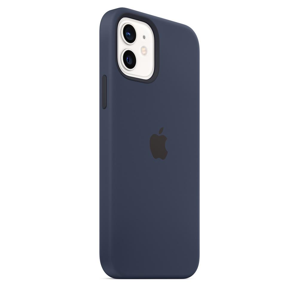 Apple silikónový obal pre iPhone 12/12 Pro – námornícky tmavomodrý 3
