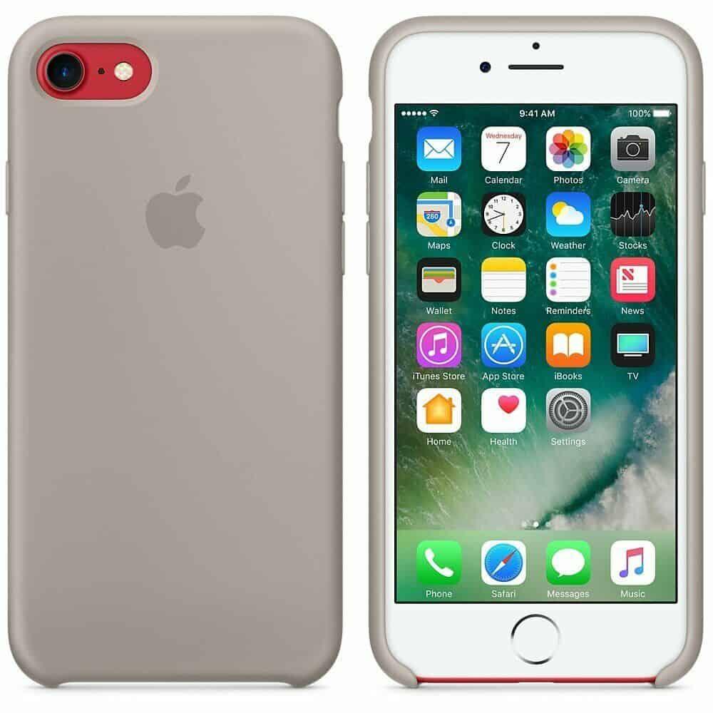 Apple silikónový obal pre iPhone SE 2020 – oblázkový 4