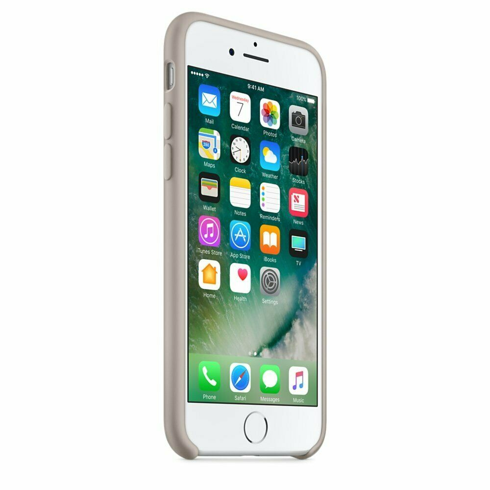 Apple silikónový obal pre iPhone SE 2020 – oblázkový 2