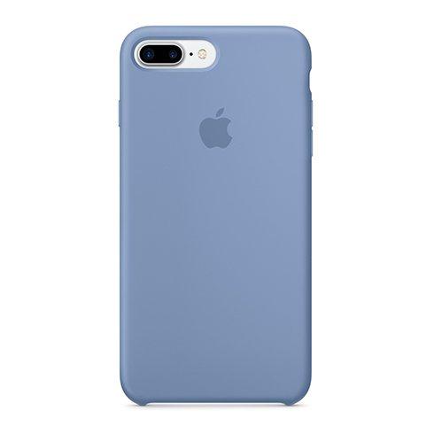 Apple silikónový obal pre iPhone 7 Plus / 8 Plus – azúrový 1