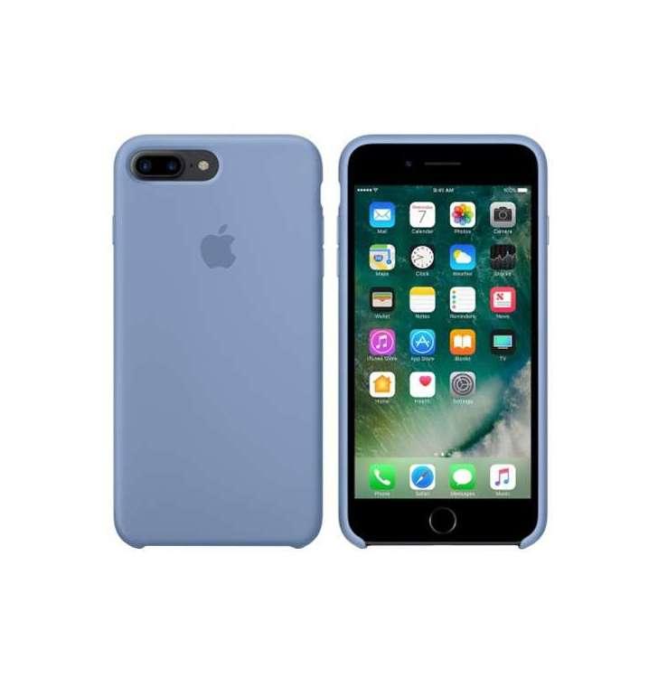 Apple silikónový obal pre iPhone 7 Plus / 8 Plus – azúrový 2