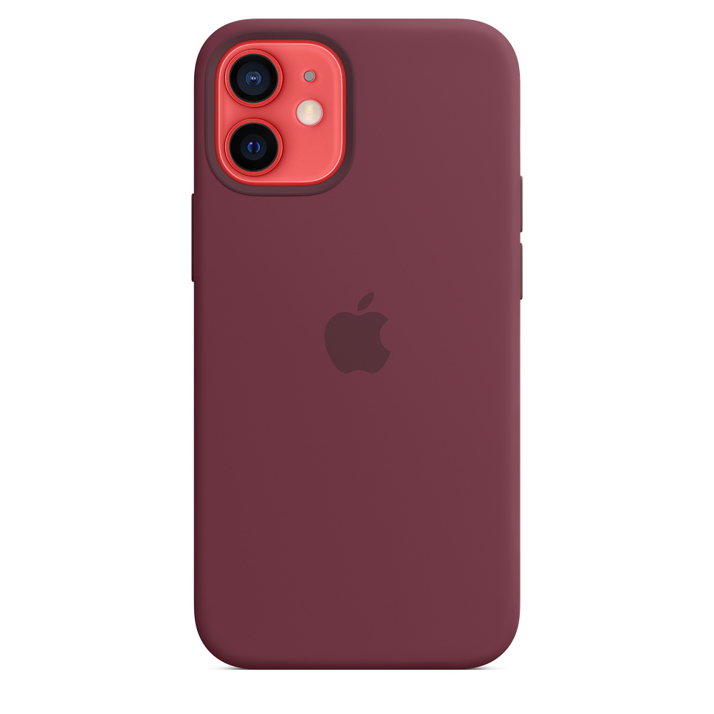 Apple silikónový obal pre iPhone 12 mini – slivkový s MagSafe 3