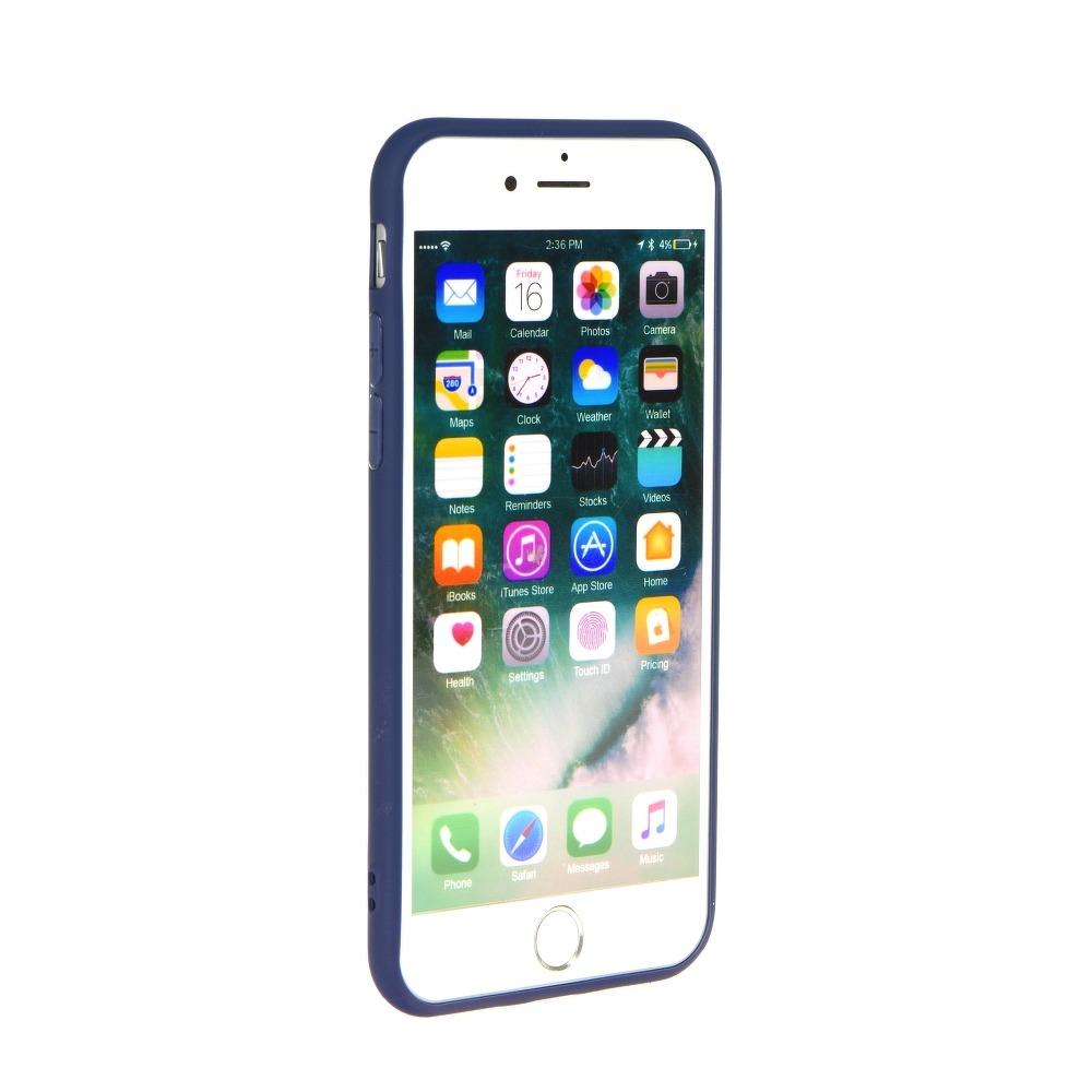 Forcell SOFT silikónový obal pre iPhone SE 2020 tmavo modrý 2