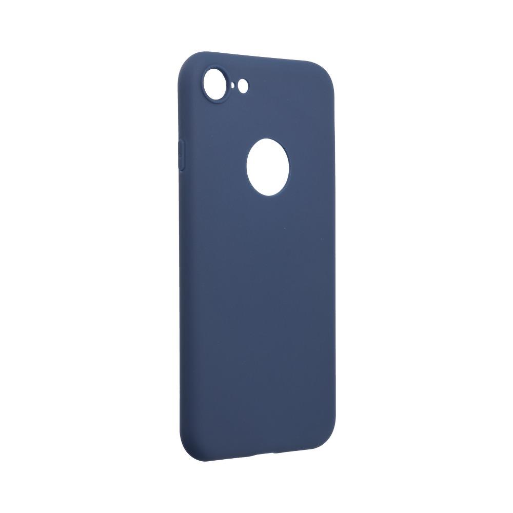 Forcell SOFT silikónový obal pre iPhone SE 2020 tmavo modrý 1