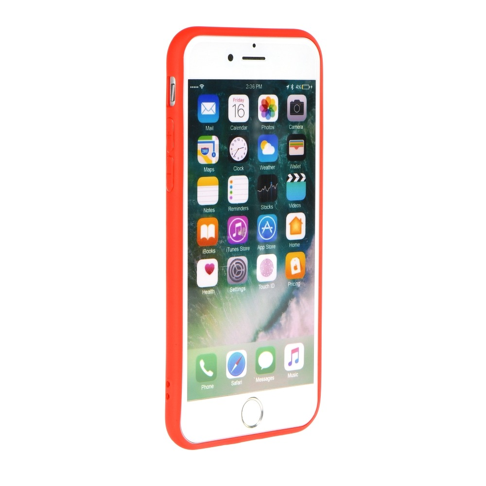 Forcell SOFT silikónový obal pre iPhone XS Max červený 2