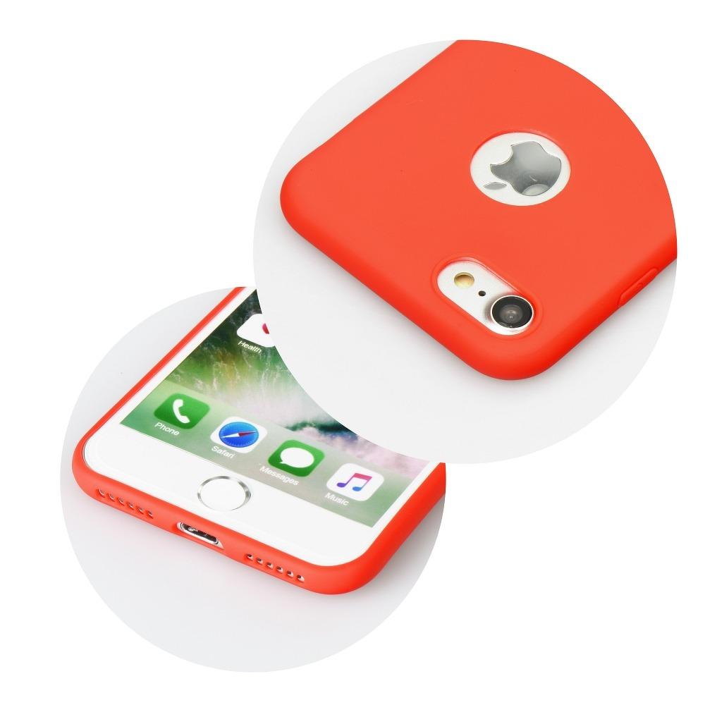 Forcell SOFT silikónový obal pre iPhone XS Max červený 3