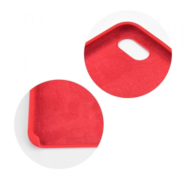 Forcell silikónový obal pre iPhone 7/8 červený 2