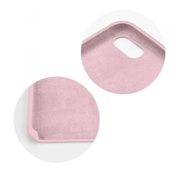 Forcell silikónový obal pre iPhone 7/8 ružový (s otvorom na logo) 2
