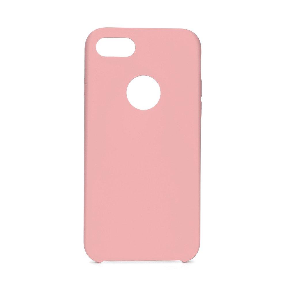 Forcell silikónový obal pre iPhone 7/8 ružový (s otvorom na logo) 1