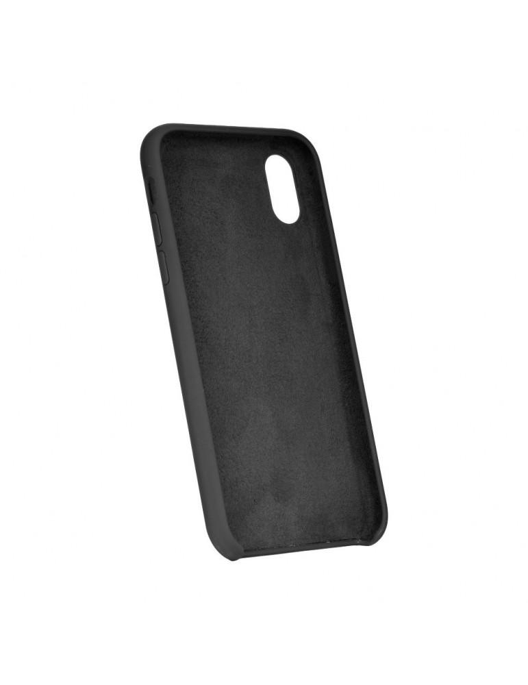 Forcell silikónový obal pre iPhone XR čierny 2