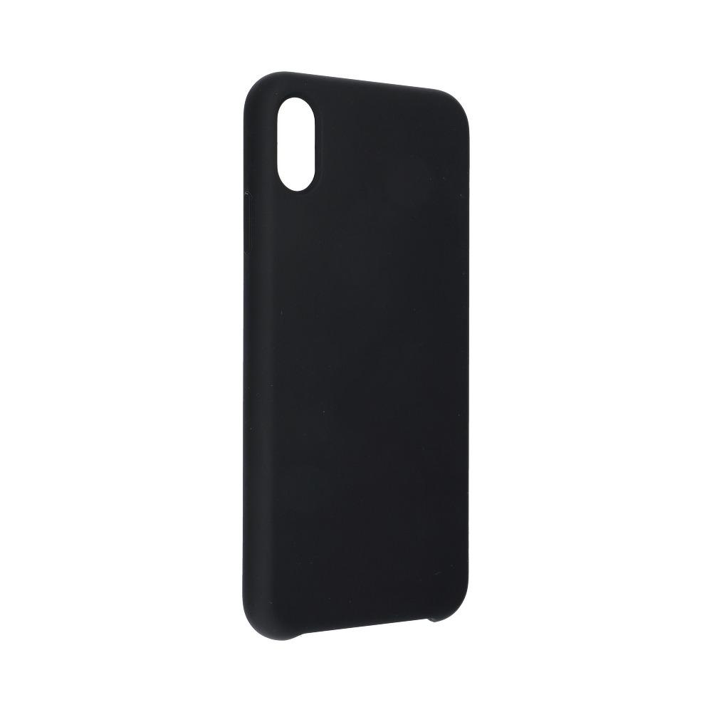 Forcell silikónový obal pre iPhone XR čierny 1