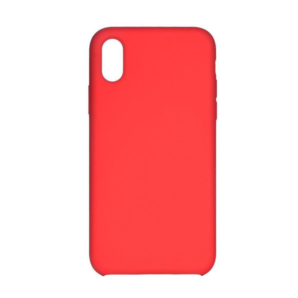 Forcell silikónový obal pre iPhone X/XS červený 1
