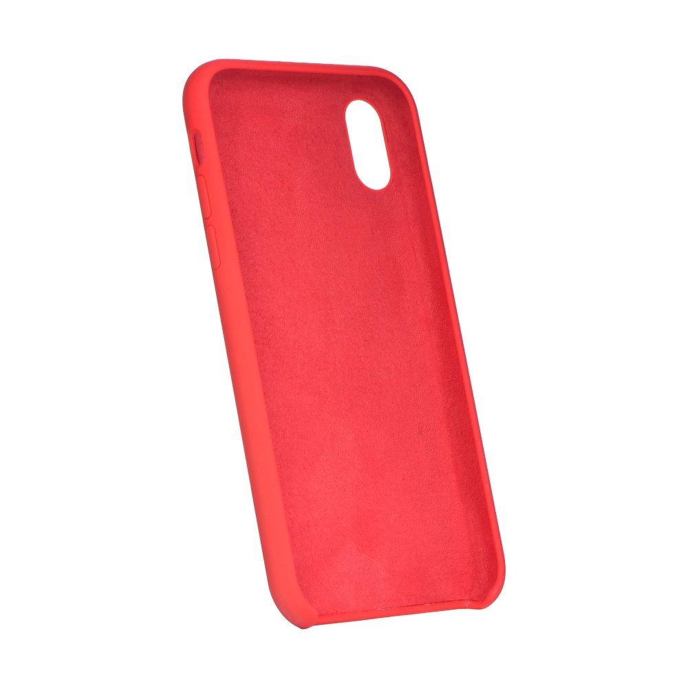 Forcell silikónový obal pre iPhone X/XS červený 2