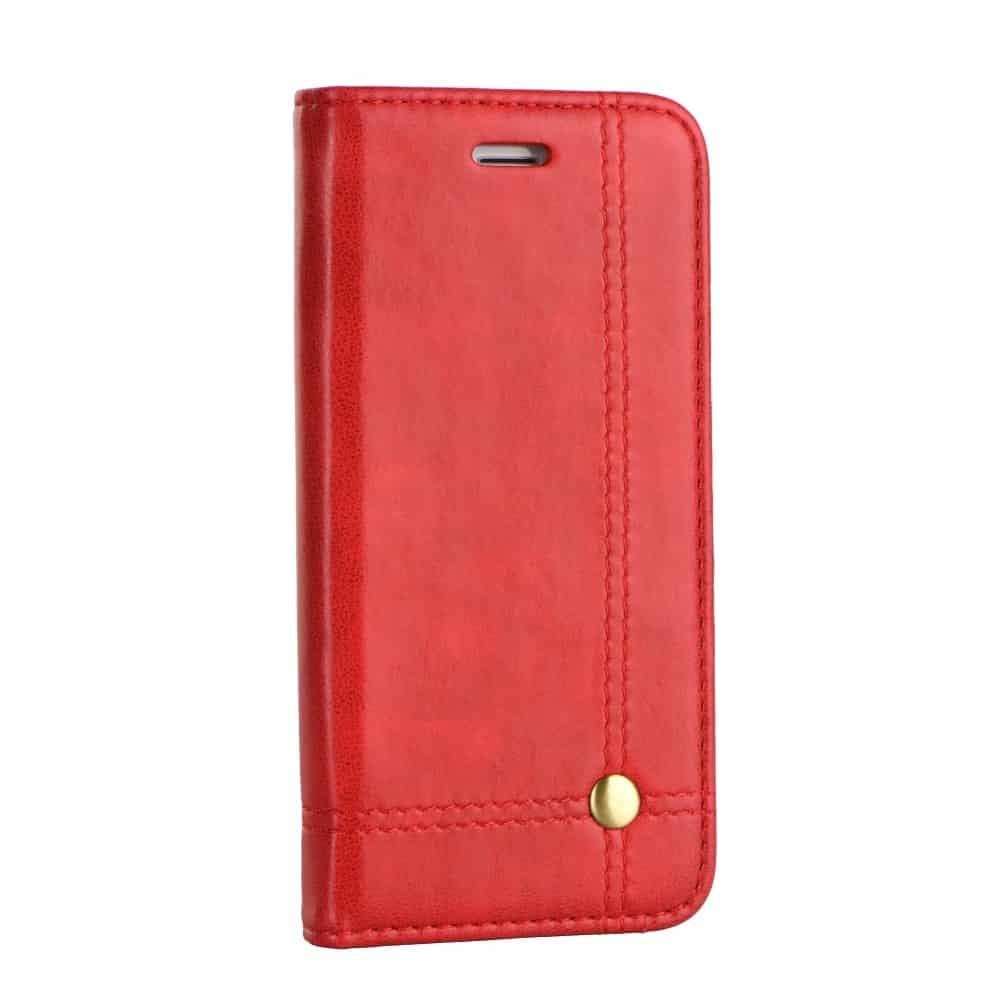 Knižkový obal PRESTIGE - iPhone XS Max červený 1