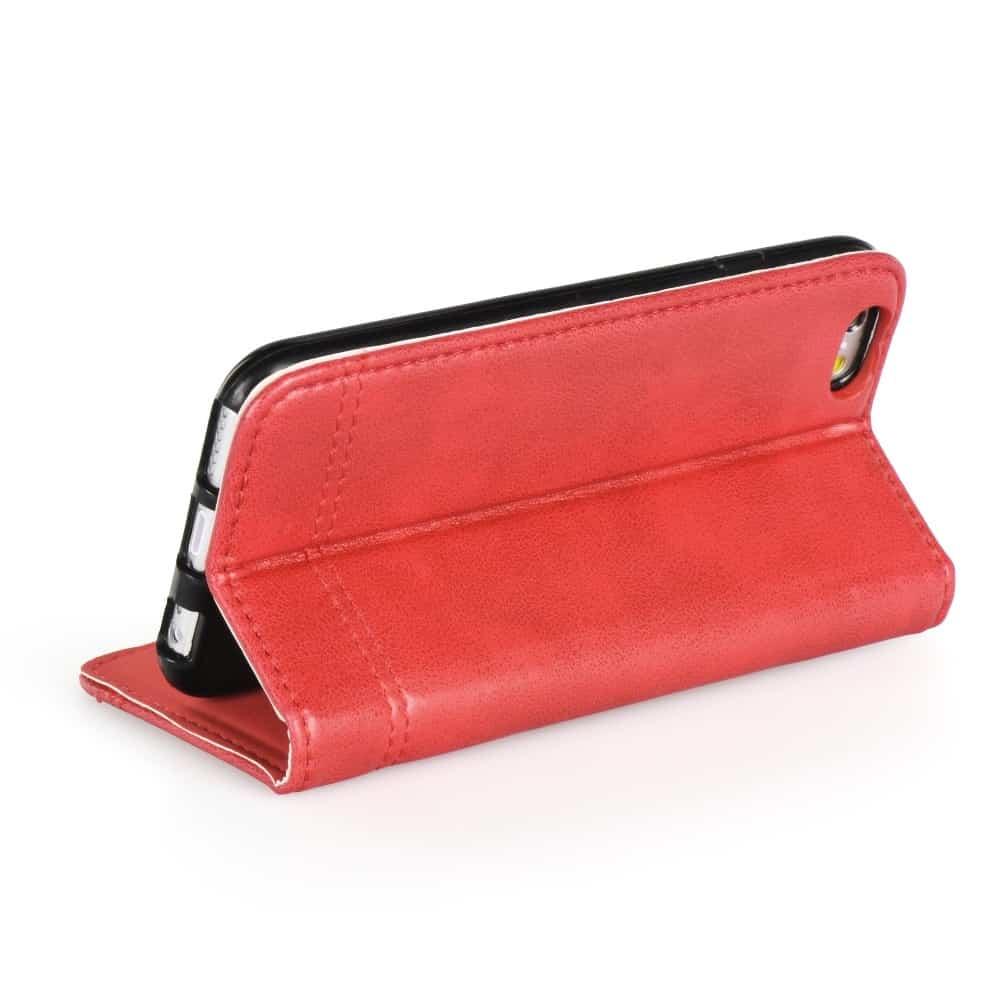 Knižkový obal PRESTIGE - iPhone XS Max červený 2