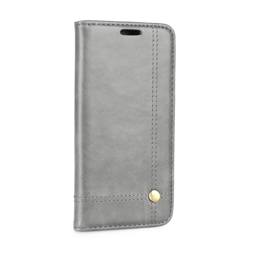 Knižkový obal PRESTIGE - iPhone X/XS šedý 1