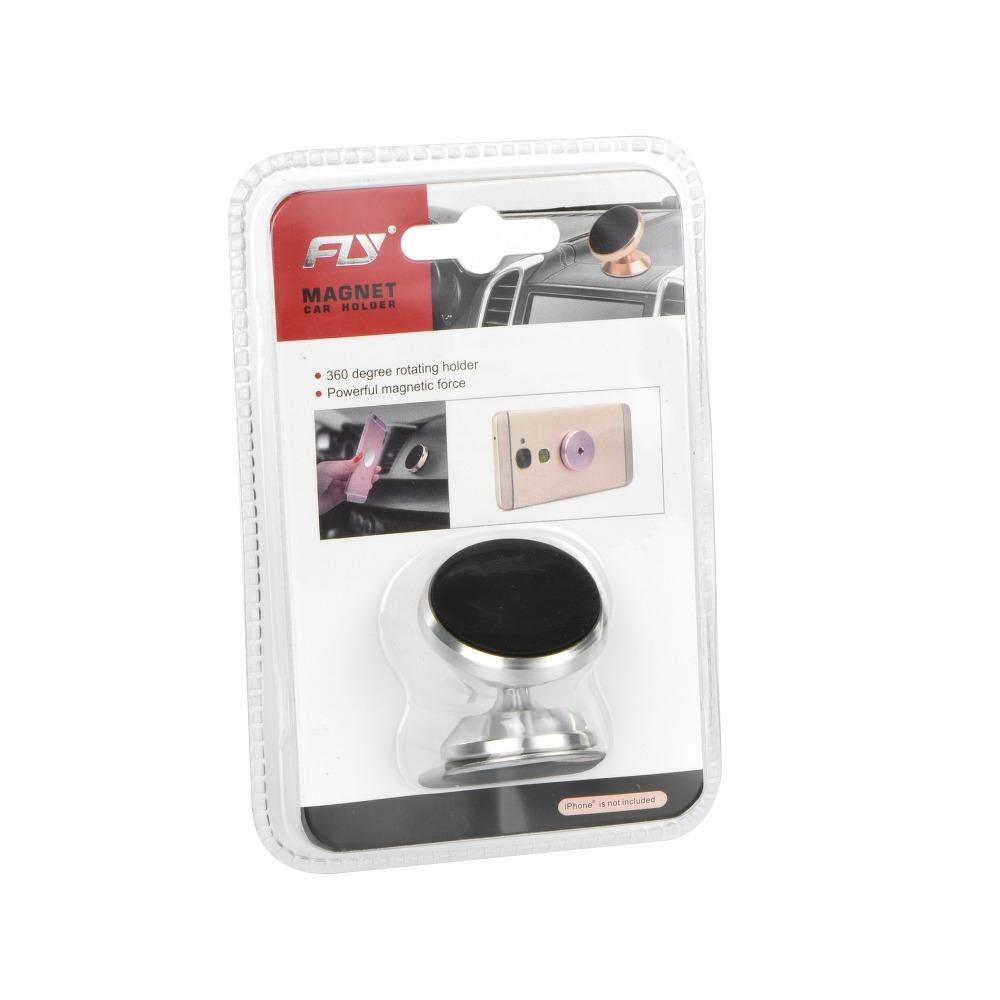 Magnetický držiak do auta pre telefón 360° - sivý 1