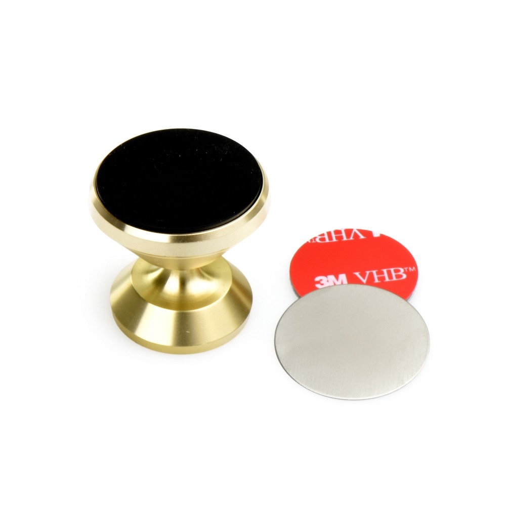 Magnetický držiak do auta pre telefón 360° - zlatý 3