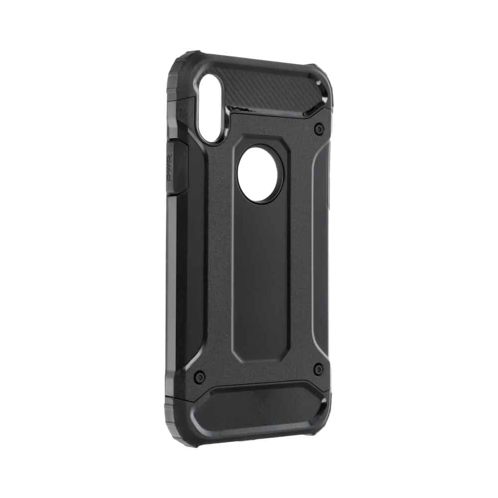 Super odolný obal Forcell ARMOR pre iPHONE XS Max - čierny 1