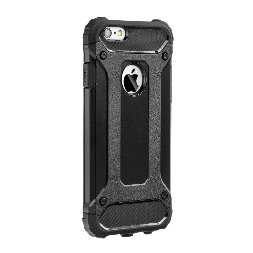 Super odolný obal Forcell ARMOR pre iPHONE 6 Plus / 6S Plus - čierny 1