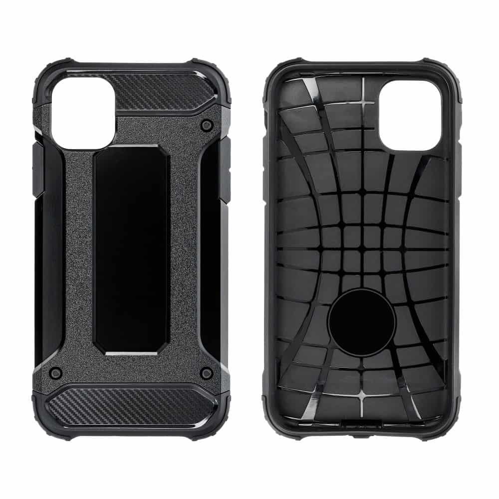 Super odolný obal Forcell ARMOR pre iPHONE XS Max - čierny 3