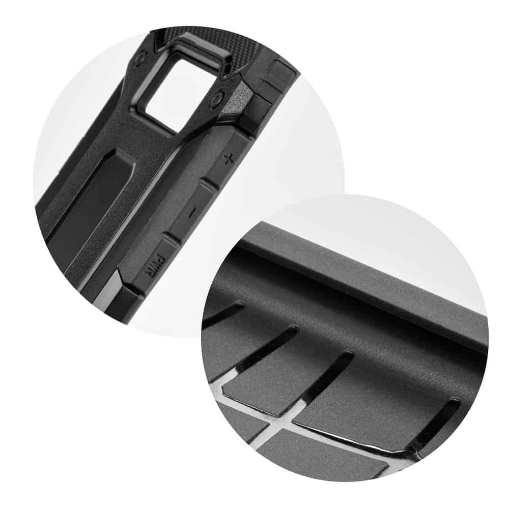 Super odolný obal Forcell ARMOR pre iPHONE XS Max - čierny 2