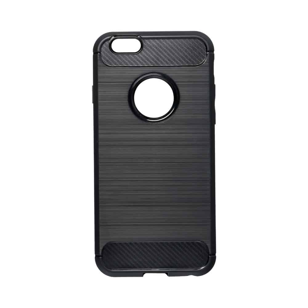 Obal Forcell CARBON pre iPhone 6 / 6S čierny 1