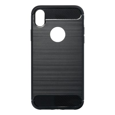 Obal Forcell CARBON pre iPhone XR čierny 1