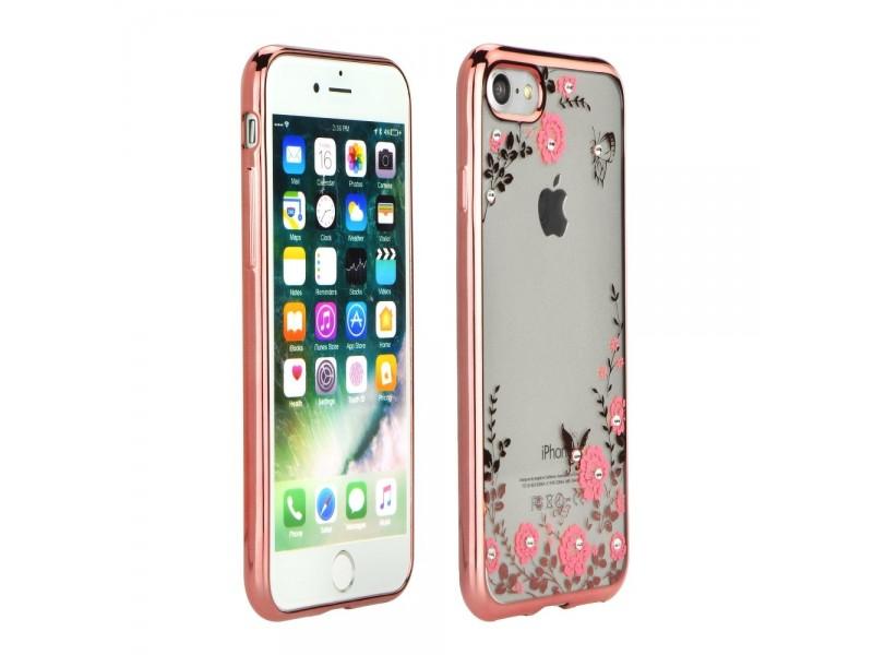 Obal Forcell Diamond pre iPhone 6/6S ružovo-zlatý 2