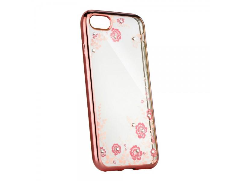 Obal Forcell Diamond pre iPhone 6/6S ružovo-zlatý 3