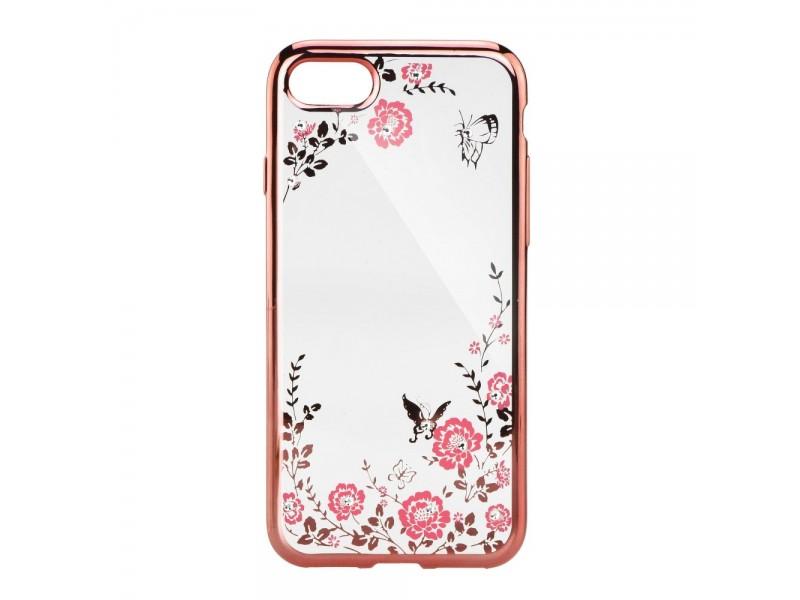 Obal Forcell Diamond pre iPhone 6/6S ružovo-zlatý 1