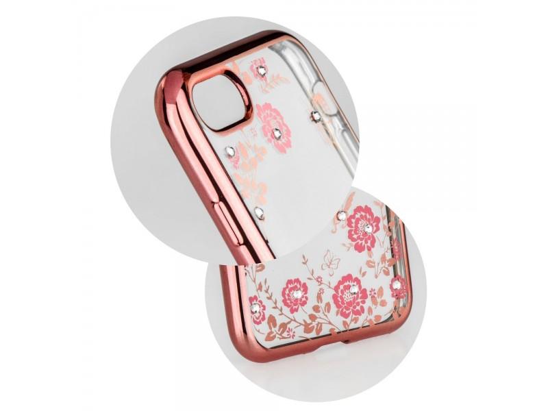 Obal Forcell Diamond pre iPhone 6/6S ružovo-zlatý 4