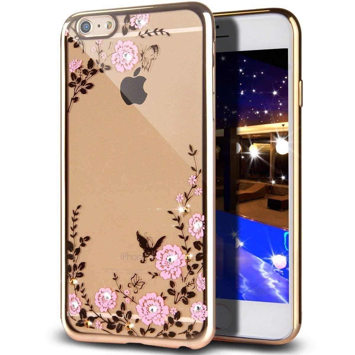 Obal Forcell Diamond pre iPhone 7 Plus / 8 Plus zlatý 2