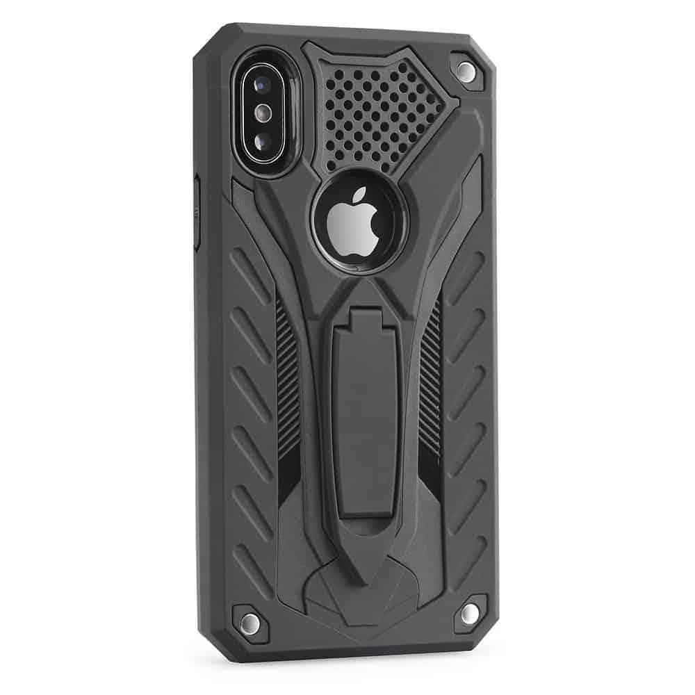 Obal Forcell PHANTOM pre iPhone XS MAX čierny 1
