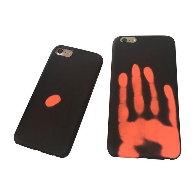 Ochranný Termo obal (čierny) - iPhone 6 / 6S 1