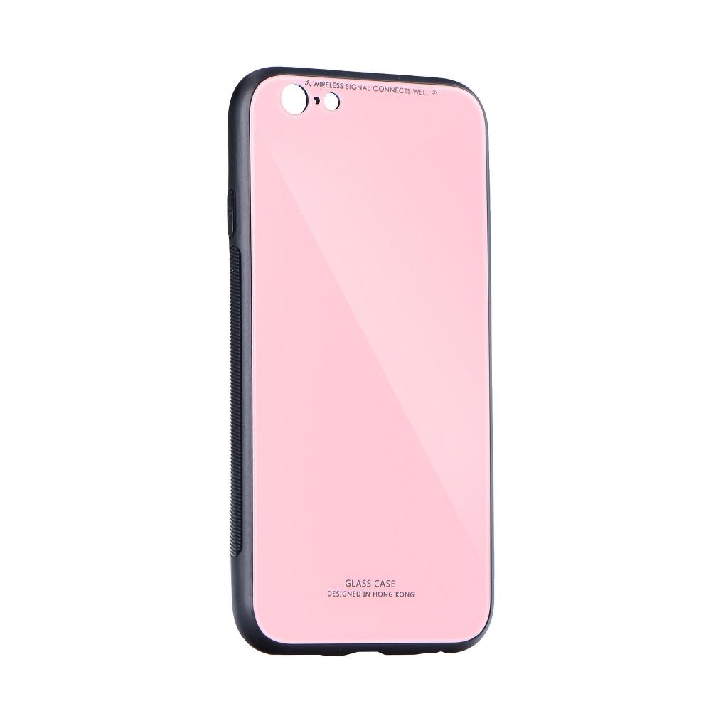 SKLENENÝ obal Forcell pre iPhone XR ružový 1