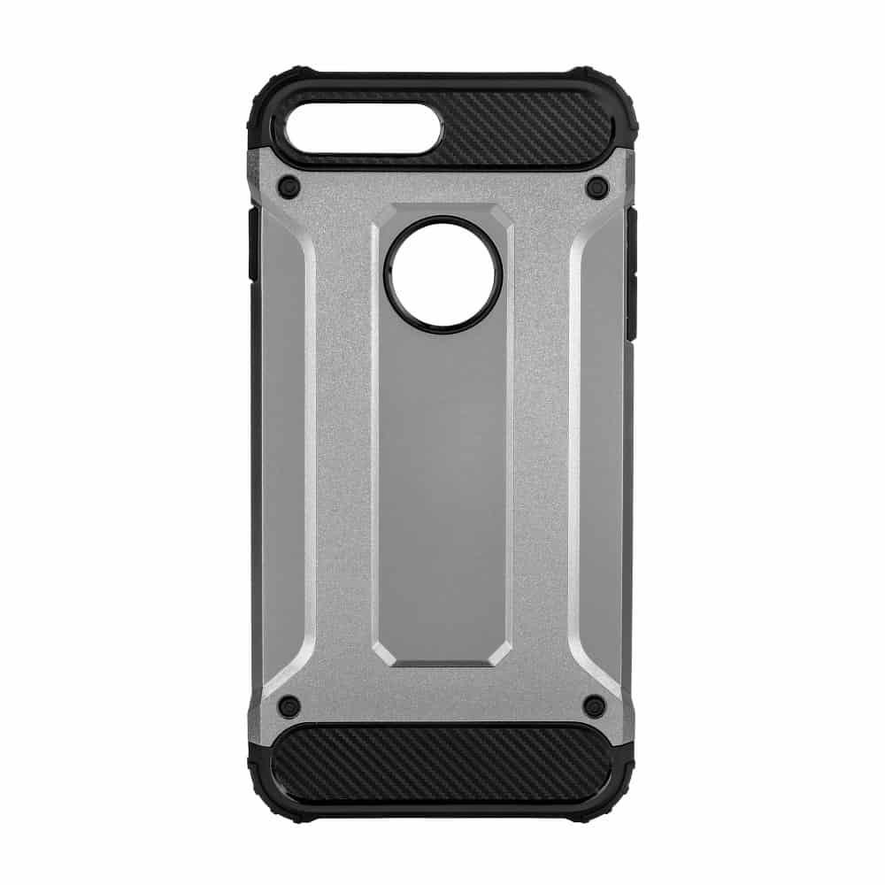 Super odolný obal Forcell ARMOR pre iPHONE 7 / 8 Plus - sivý 1