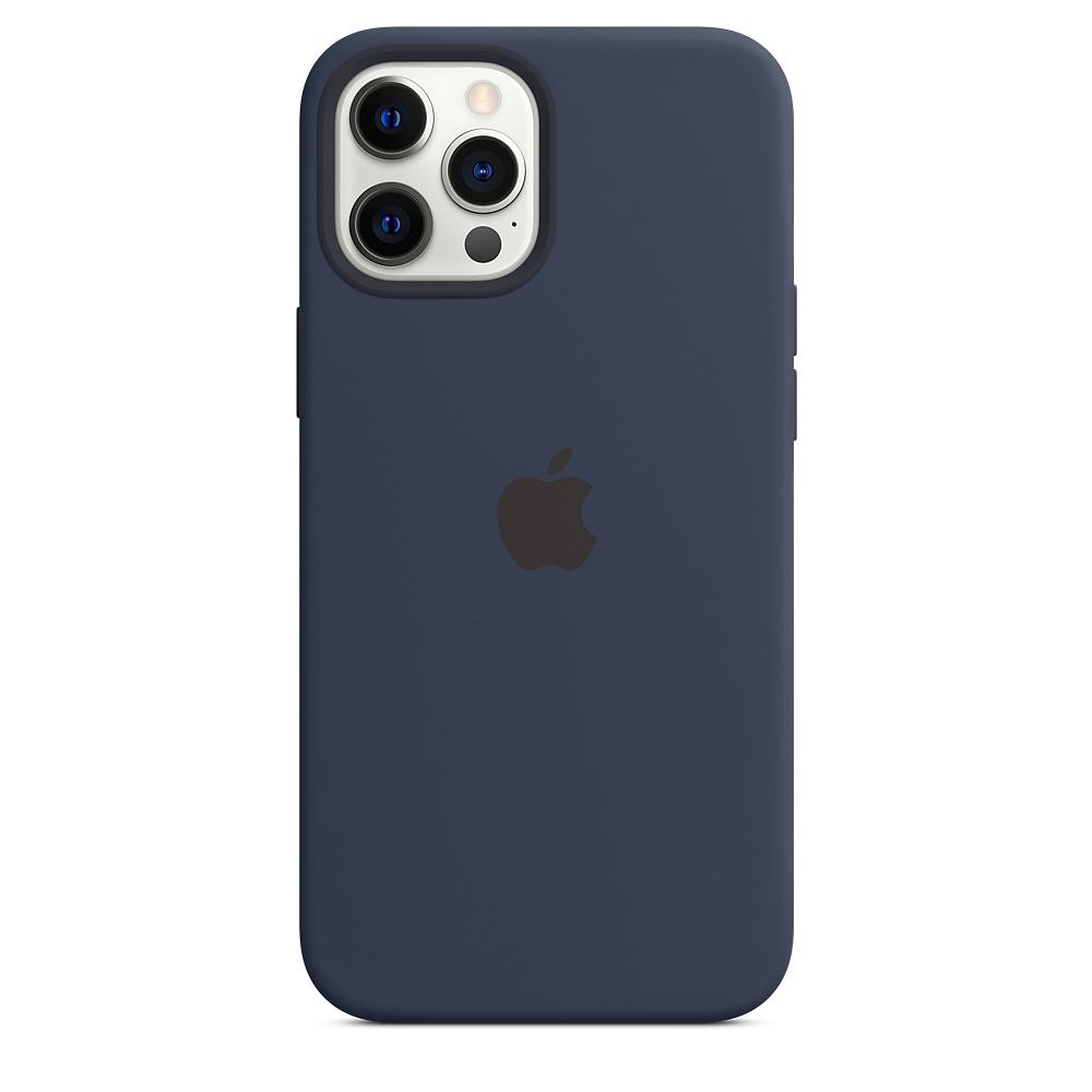 Apple silikónový obal pre iPhone 12 Pro Max – námornícky tmavomodrý 4
