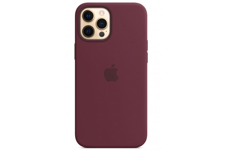 Apple silikónový obal pre iPhone 12 Pro Max – slivkový s MagSafe 1