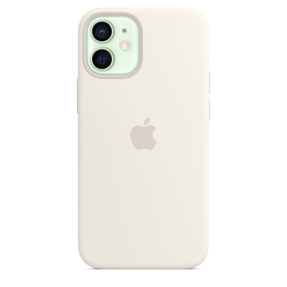 Apple silikónový obal pre iPhone 12 mini – biely s MagSafe 1