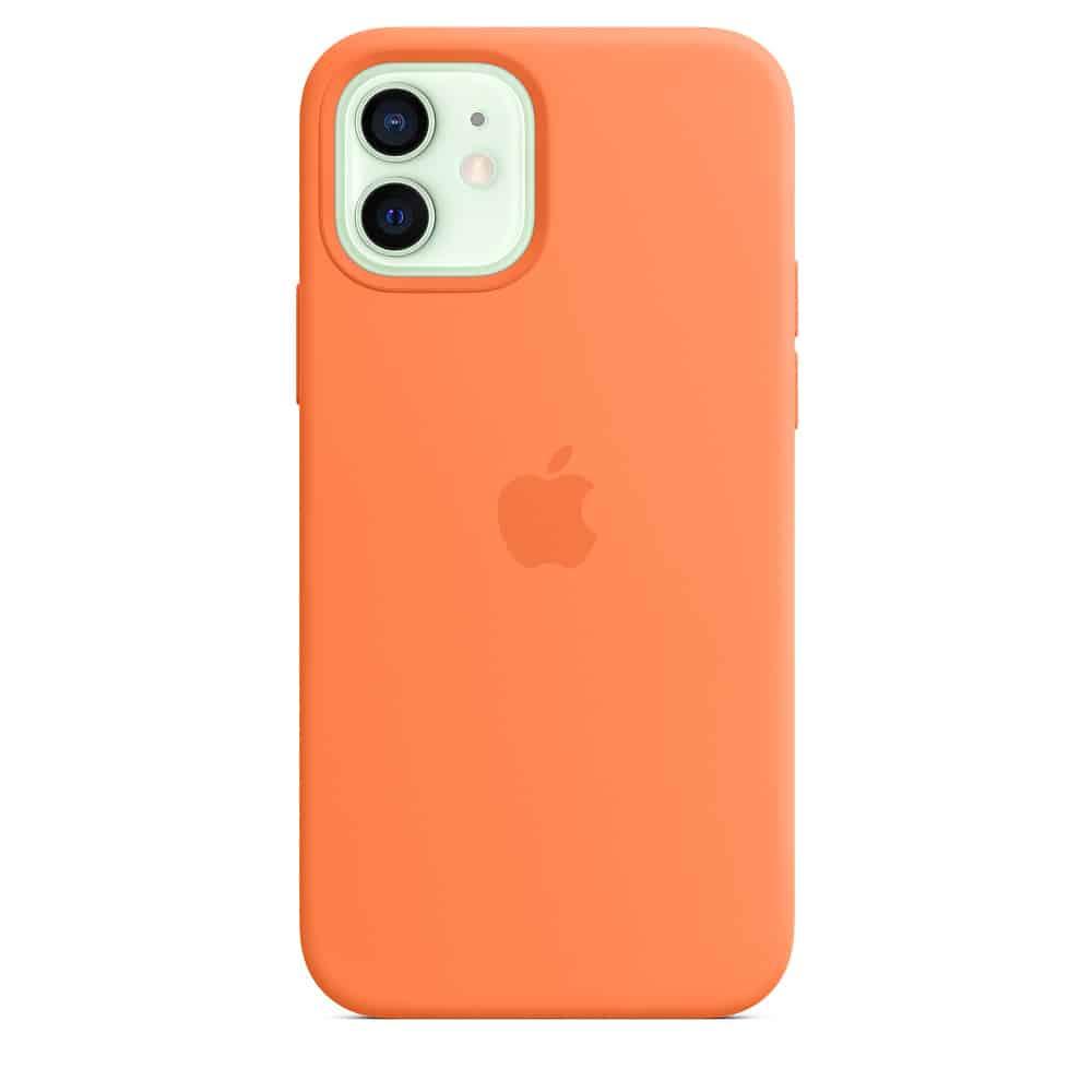 Apple silikónový obal pre iPhone 12/12 Pro – kumquatovo oranžový 1