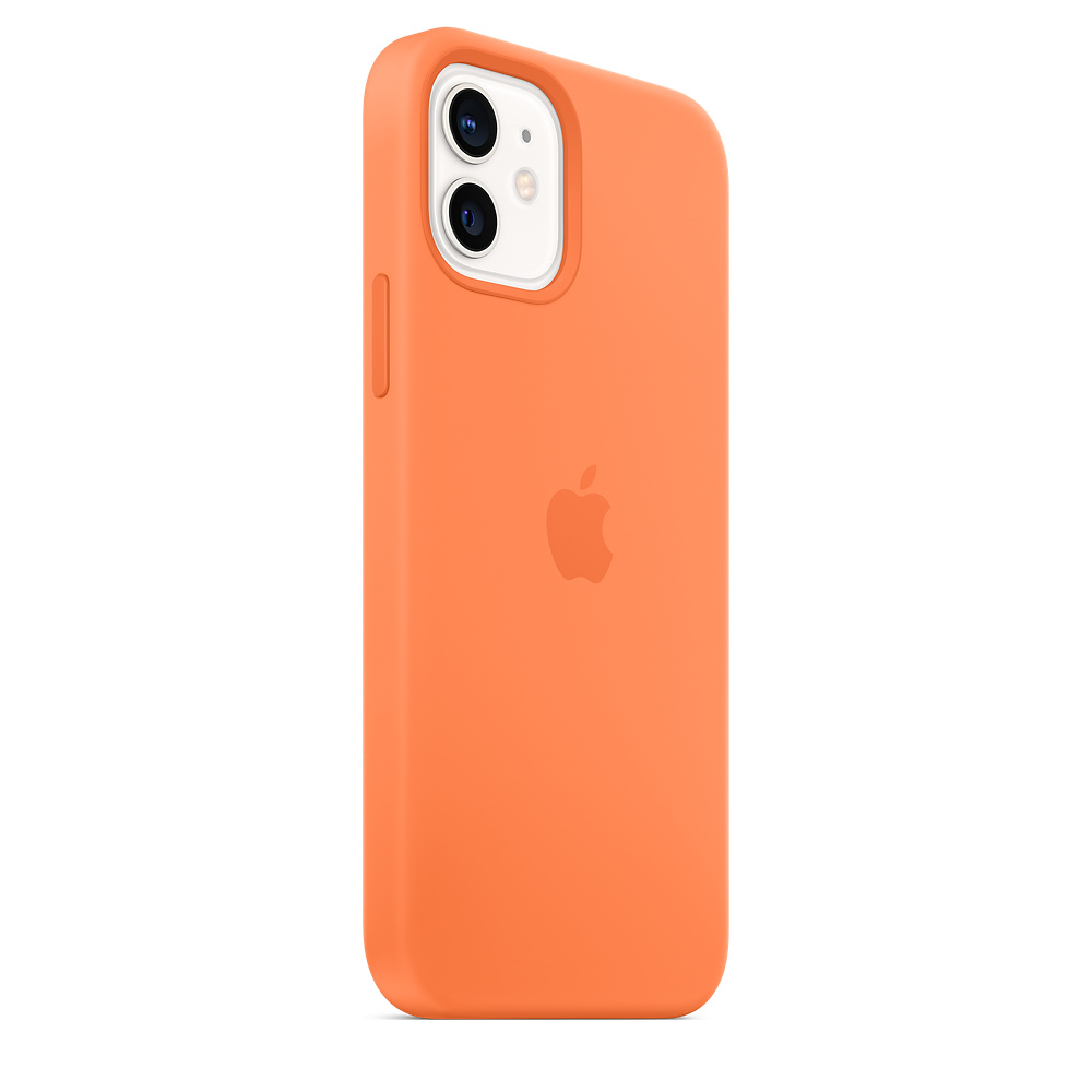 Apple silikónový obal pre iPhone 12/12 Pro – kumquatovo oranžový 6