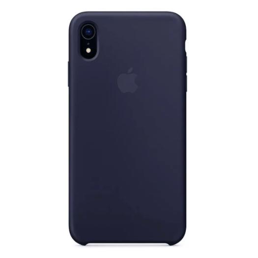 Apple silikónový obal pre iPhone XR – modrý 1