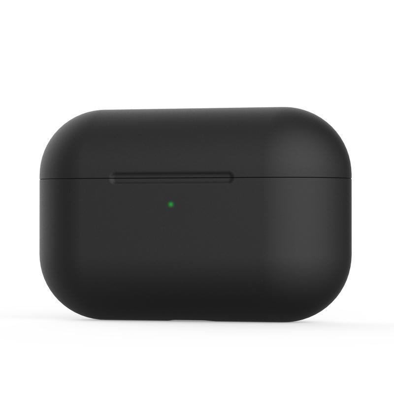 Silikónový obal pre Apple Airpods Pro - čierny 1