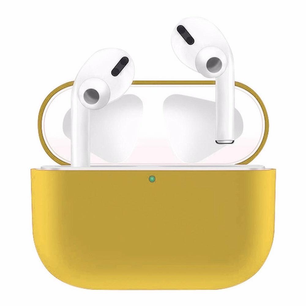 Silikónový obal pre Apple Airpods Pro - žltý 1