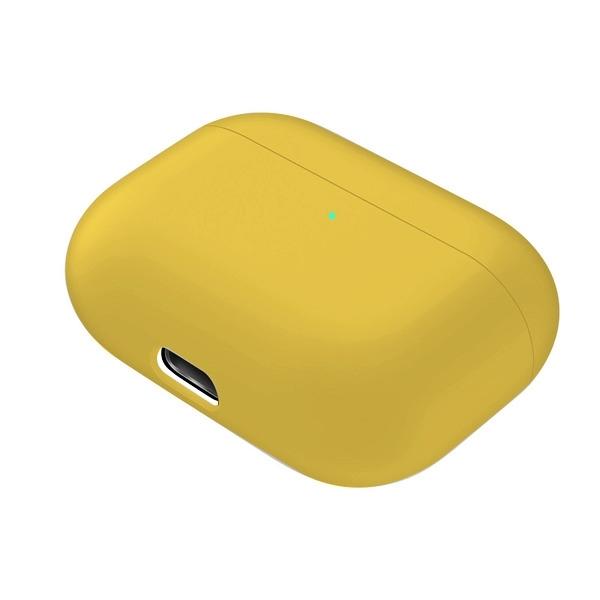 Silikónový obal pre Apple Airpods Pro - žltý 2