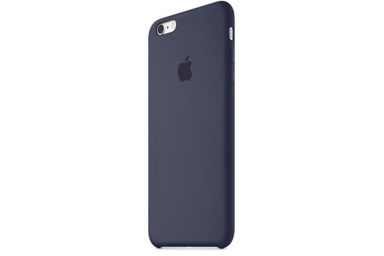Apple silikónový obal pre iPhone 6 / 6S – polnočne modrý 3