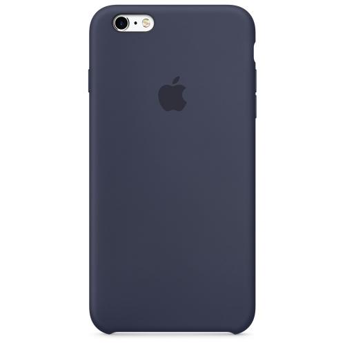 Apple silikónový obal pre iPhone 6 / 6S – polnočne modrý 1