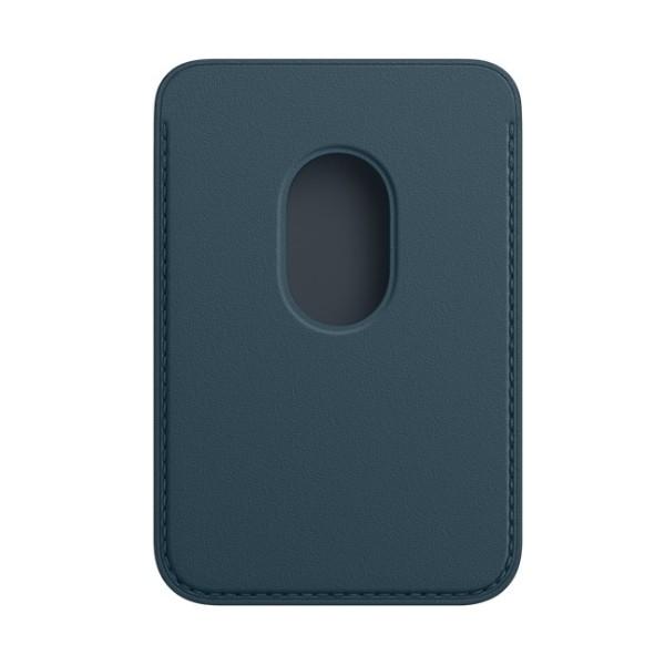 Kožená peňaženka s MagSafe pre iPhone - baltská modrá 2
